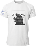 L.I.O.N. Apparel Graphic T-Shirt A Wise Man Once Said Nothing, Small / White - Good Friend Graphics