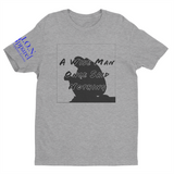 L.I.O.N. Apparel Graphic T-Shirt A Wise Man Once Said Nothing, Small / Light Gray - Good Friend Graphics