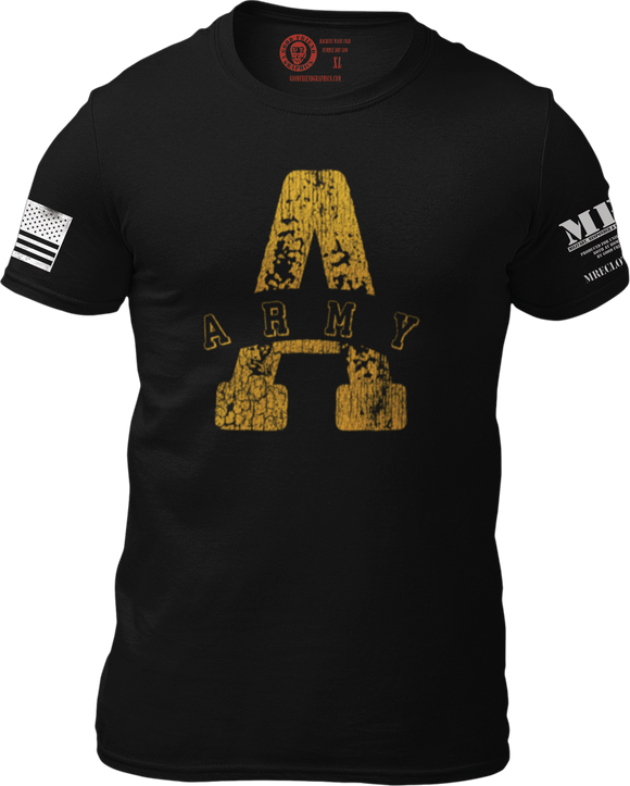 M.R.E. Clothing Graphic T-Shirt A for Army, Small / Black - Good Friend Graphics