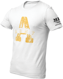 M.R.E. Clothing Graphic T-Shirt A for Army, Small / White - Good Friend Graphics