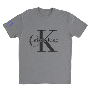 L.I.O.N. Apparel Graphic T-Shirt Christ is King, Women's Small / White - Good Friend Graphics