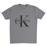 L.I.O.N. Apparel Graphic T-Shirt Christ is King, Small / Light Gray - Good Friend Graphics