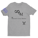 L.I.O.N. Apparel Graphic T-Shirt Eternal Live Matter, Small / Light Gray w/Black - Good Friend Graphics