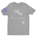 L.I.O.N. Apparel Graphic T-Shirt Eternal Live Matter, Small / Light Gray w/White - Good Friend Graphics