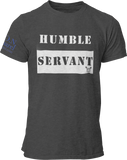 L.I.O.N. Apparel Graphic T-Shirt Humble Servant, Small / Dark Gray - Good Friend Graphics