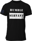 L.I.O.N. Apparel Graphic T-Shirt Humble Servant, Small / Black - Good Friend Graphics