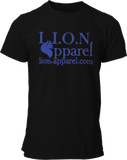 L.I.O.N. Apparel Graphic T-Shirt Logo, Small / Black - Good Friend Graphics