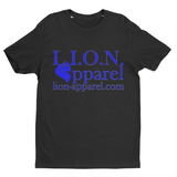 L.I.O.N. Apparel Logo Graphic T-Shirt, Small / Black - Good Friend Graphics