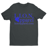 L.I.O.N. Apparel Graphic T-Shirt Logo, Small / Dark Gray - Good Friend Graphics