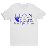L.I.O.N. Apparel Logo Graphic T-Shirt, Small / White - Good Friend Graphics