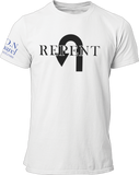L.I.O.N. Apparel Graphic T-Shirt Repent, Small / White - Good Friend Graphics