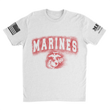 M.R.E. Clothing Graphic T-Shirt Spray Paint Marine Corps,  - Good Friend Graphics