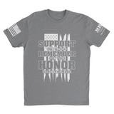 M.R.E. Clothing Graphic T-Shirt Support Remember Honor,  - Good Friend Graphics