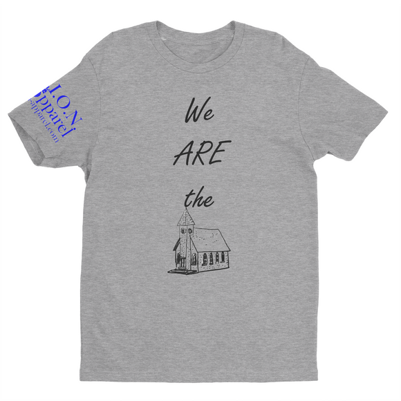 L.I.O.N. Graphic T-Shirt We ARE the Church, Small / Heather Gray - Good Friend Graphics