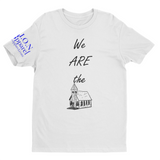 L.I.O.N. Graphic T-Shirt We ARE the Church, Small / White - Good Friend Graphics