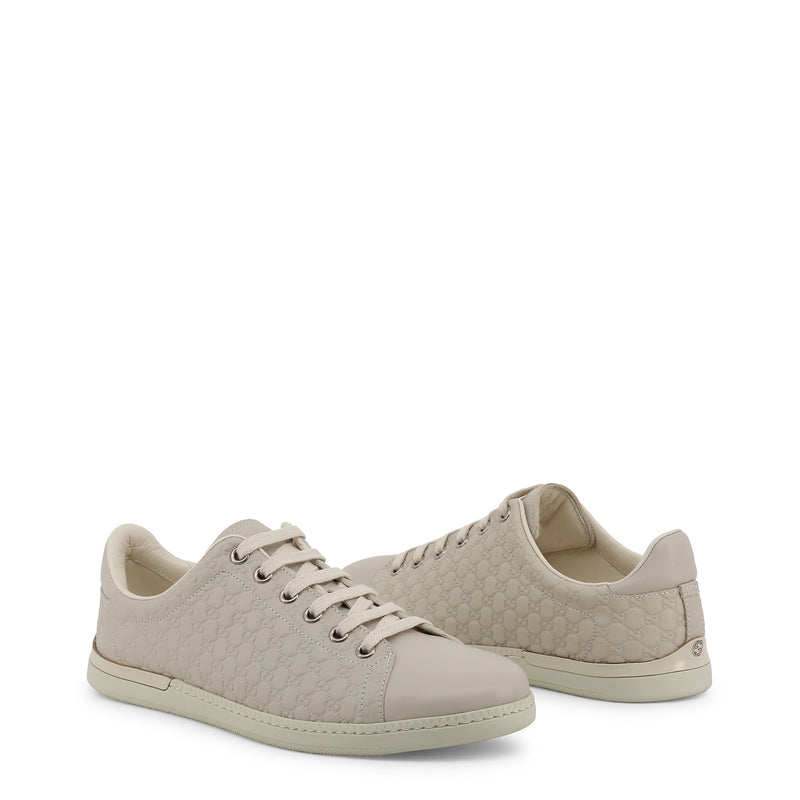 Gucci Women's Brown Leather Sneakers