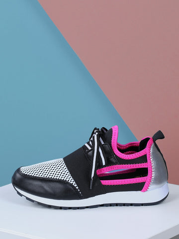 Women's Knot Design Round Toe Sneakers