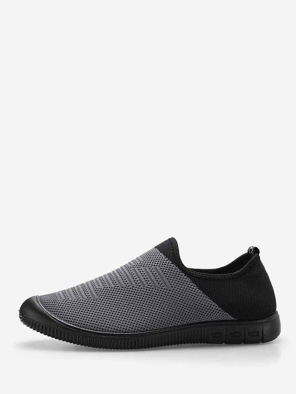 Men Two Tone Slip On Sneakers