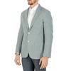 Corneliani Mens Jacket Long Sleeves Light Blue