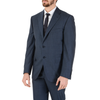 Corneliani Mens Suit Long Sleeves Dark Blue Super 130's