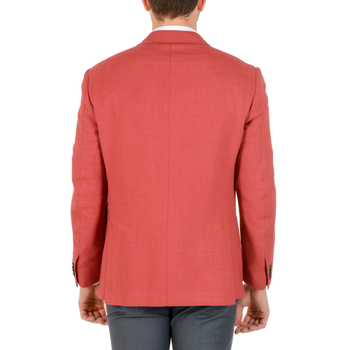 Corneliani Mens Jacket Long Sleeves Coral