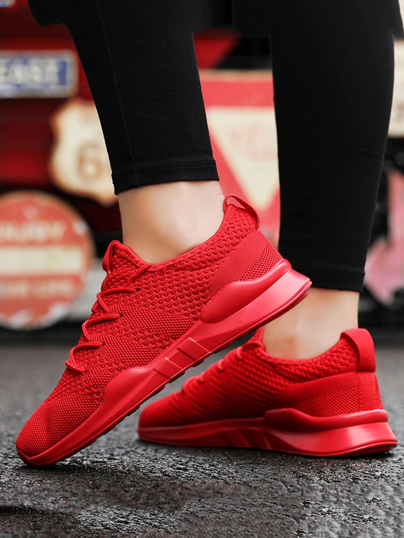 Men Lace-up Mesh Sneakers