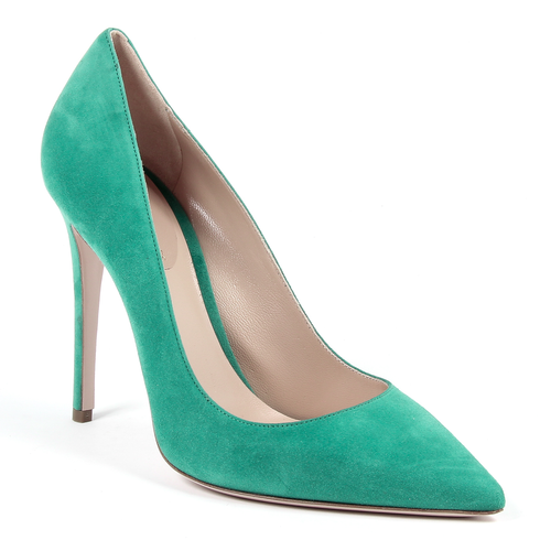 Andrew Charles By Andy Hilfiger Womens Pump Green AUSTIN