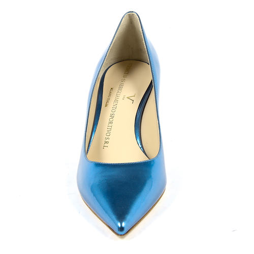 V 1969 Italia Womens Pump Blue ASIA