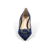 V 1969 Italia Womens Pump 3109244 VELLUTO BLU ROYAL