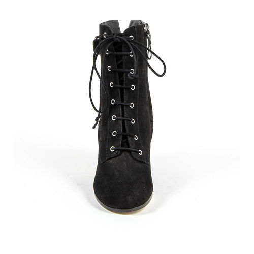 V 1969 Italia Womens Short Boot 3115425 CAMOSCIO NERO
