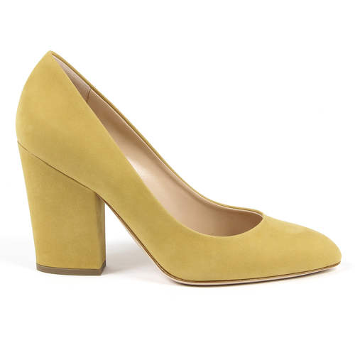 Andrew Charles By Andy Hilfiger Womens Pump Yellow DALLAS