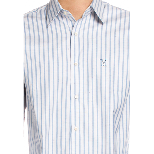 V 1969 Italia Mens Classic Neck Shirt