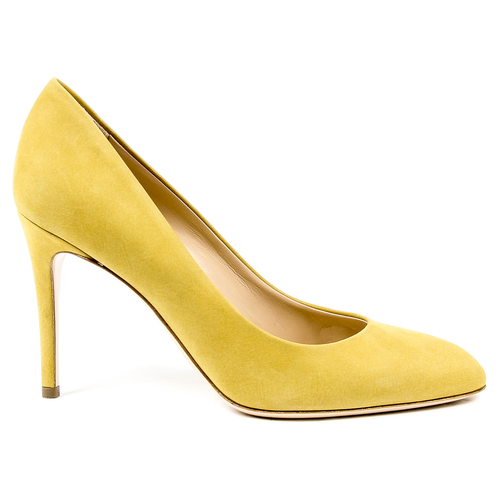 Andrew Charles Womens Pump Yellow INES