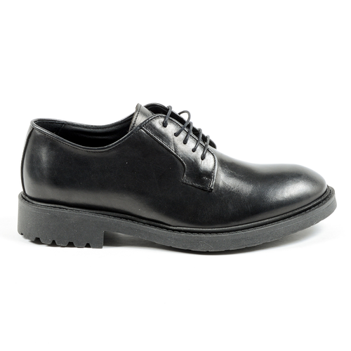 Andrew Charles Mens Lace Up Shoe Black JIMI