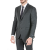 Pal Zileri Mens Suit Dark Grey