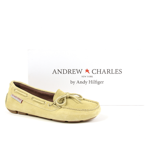 Andrew Charles Womens Loafer Yellow CAMILLA