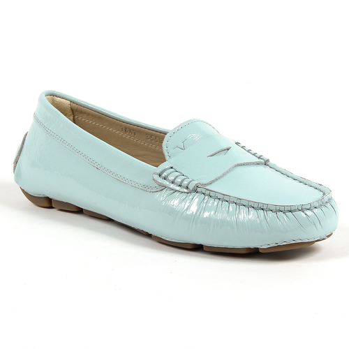V 1969 Italia Womens Loafer Light Blue AMALFI