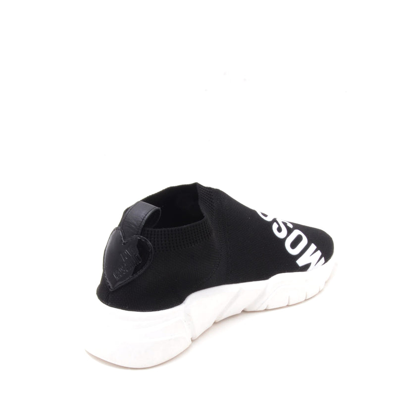 Love Moschino Women's Low Sneaker Sock - Black