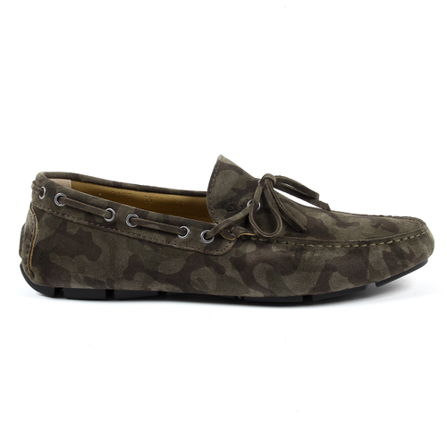 V 1969 Italia Mens Loafer Green ADAM