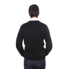 V 1969 Italia mens round neck sweater 9802 GIROCOLLO NERO
