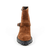 V 1969 Italia Womens Short Boot B1441 VELOUR RUST