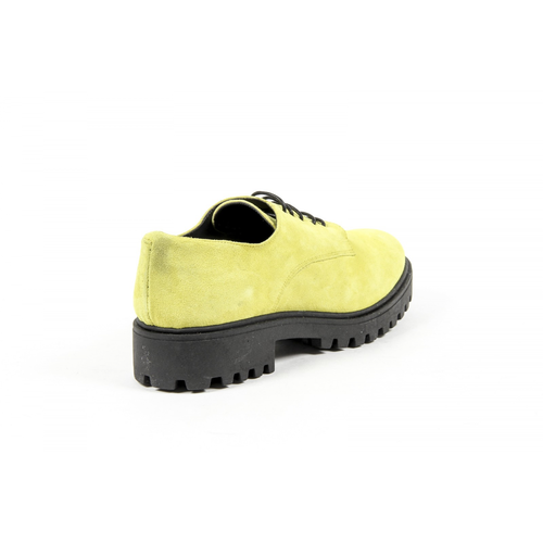 V 1969 Italia Womens Lace Up Shoe C01 CAMOSCIO GIALLO