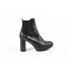 V 1969 Italia Womens Ankle Boot C22 VITELLO NERO