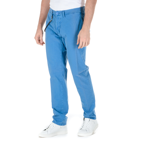 Modfitters Mens Pants Light Blue COMFORT MASSAUA
