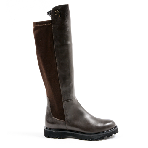 Andrew Charles Womens High Boot Brown MILEY