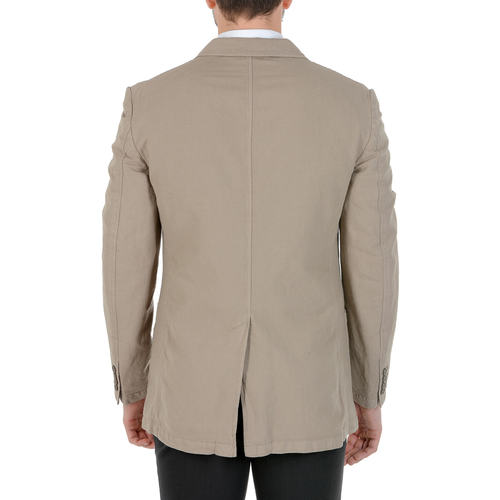 Faconnable Mens Jacket Long Sleeves Beige COLIN