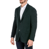 Boglioli Milano Mens Jacket Long Sleeves Dark Green