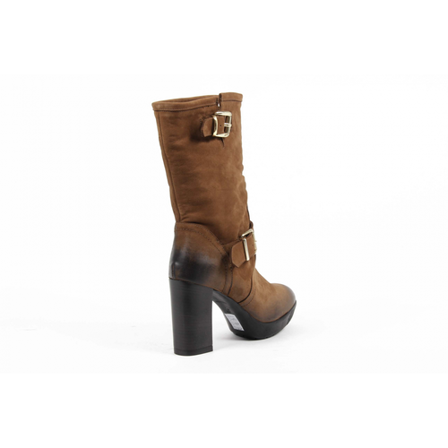 V 1969 Italia Womens High Boot S09 NABUK CUOIO