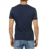 Andrew Charles Mens T-Shirt Short Sleeves V-Neck Blue KENAN