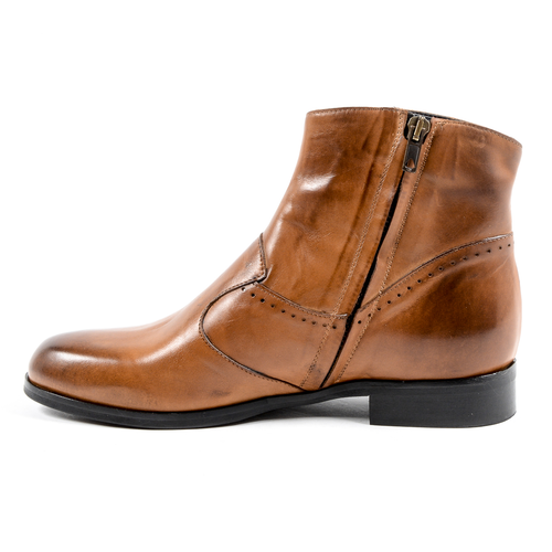 V 1969 Italia Womens Ankle Boot Brown COURT